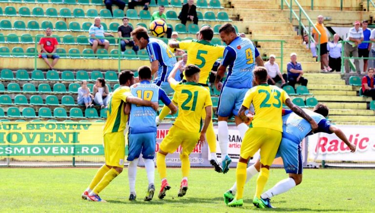 CS Mioveni are o medie de 5 goluri marcate per meci în amicale